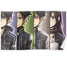 SAO - 4 Kirito Poster
