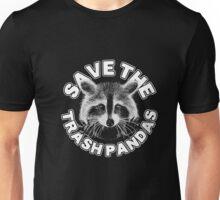 Save the Trash Pandas Raccoon Animal T-shirt Unisex T-Shirt