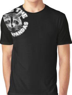 Save the Trash Pandas Raccoon Animal T-shirt Graphic T-Shirt
