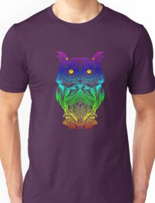 Owl Psychedelic Retro Hippie Hipster Style T Shirt Unisex T-Shirt