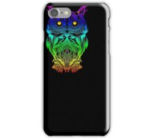 Owl Psychedelic Retro Hippie Hipster Style T Shirt iPhone Case/Skin