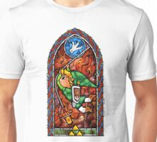 LoZ Grappling Hook Stained Glass Unisex T-Shirt
