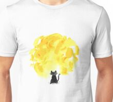 Cat Loves The Fire Unisex T-Shirt