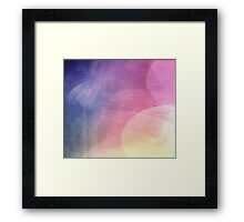 abstract colour Framed Print