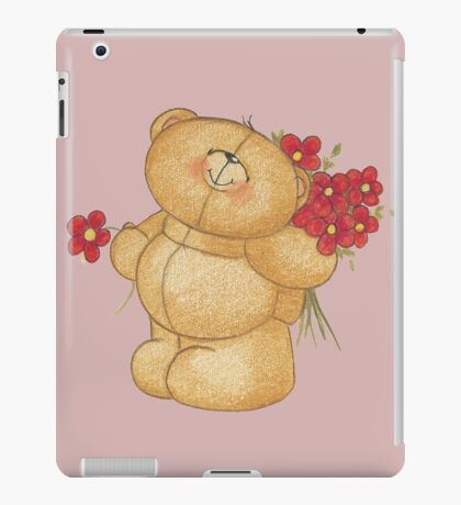 disney,teddy bear,pink iPad Case/Skin