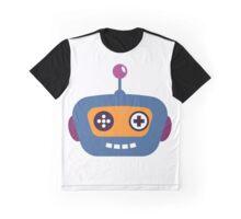 Hipster Robot Graphic T-Shirt