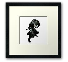 Skyrim Dragonborn Framed Print