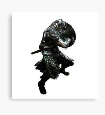 Skyrim Dragonborn Canvas Print