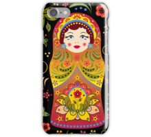 russian doll matryoshka iPhone Case/Skin