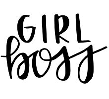girl boss Photographic Print