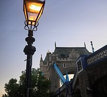 A Light Beside Tower Bridge by Larry Lingard-Davis