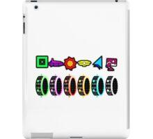 Geometry Dash - Portals iPad Case/Skin