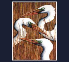 Three Egrets T-Shirt