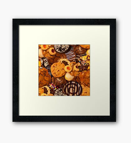 Cookie SweetTooth Framed Print