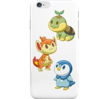 Pokemon Starters - Gen 4 iPhone Case/Skin