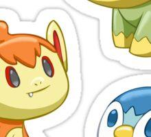 Pokemon Starters - Gen 4 Sticker