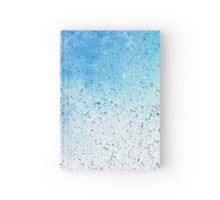 Water droplets  Hardcover Journal
