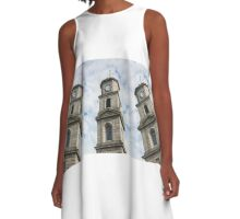 Penryn Clock Tower A-Line Dress