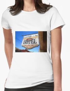 Route 66 - Oatman Hotel Womens Fitted T-Shirt