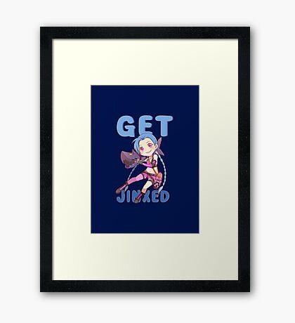 Get Jinxed Framed Print