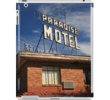 Route 66 - Paradise Motel iPad Case/Skin