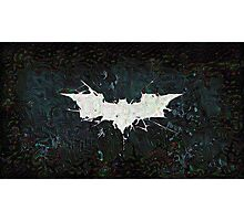 Bat Blur Photographic Print