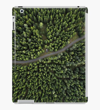 Wood forest Collection : with Trees art / Nordic style iPad Case/Skin
