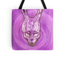 Frank The Easter Bunny (with sort of timey wimey background) Tote Bag