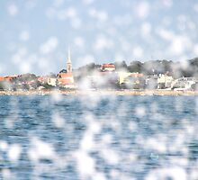 The City through the Water - Bay of Arcachon, France by Tiffany Lenoir
