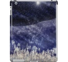 Moonlit Mountainside iPad Case/Skin
