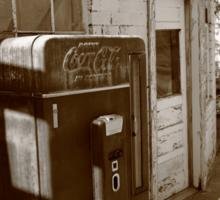 Route 66 - Rusty Coke Machine Sticker