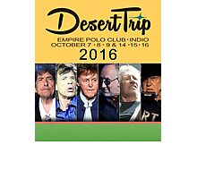 tour date hot perform desert trip yl6 Photographic Print