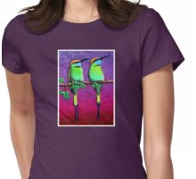 Green Bee-Eaters Womens Fitted T-Shirt