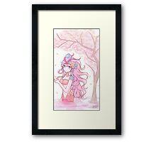 Koi Nami Framed Print