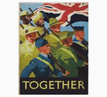 Vintage poster - Together One Piece - Short Sleeve