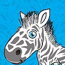 Zebra is Cute by Silvia Neto
