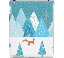 Fox - Winter iPad Case/Skin