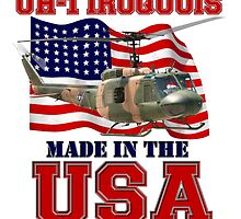 UH-1 Iroquois Made in the USA by Mil Merchant