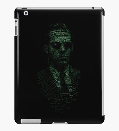 Agent Smith iPad Case/Skin