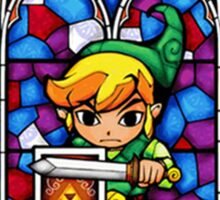 LoZ Shield Stained Glass Sticker