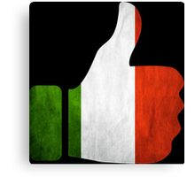 italy thumbs Canvas Print