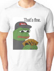Pepe Yugioh Thats Fine Unisex T-Shirt