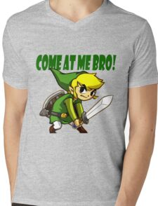 come at me brooo !!! Mens V-Neck T-Shirt