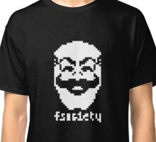 2-bit Pixel Fsociety T-shirt Classic T-Shirt