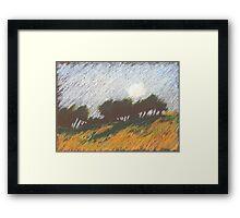 Morgensonne Framed Print