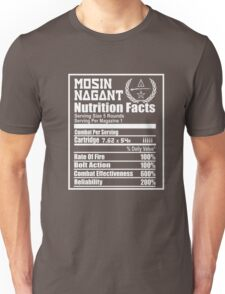 Mosin Nagant Nutrition Facts Unisex T-Shirt
