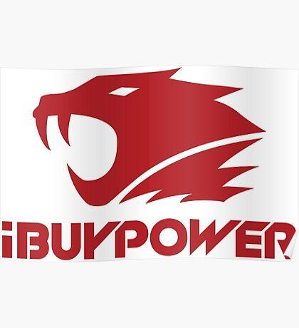 iBuyPower csgo team logo Poster