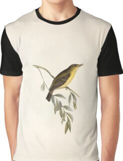 John Gould The Birds of Europe 1837 V1 V5 132 Melodious Willow Wren Graphic T-Shirt