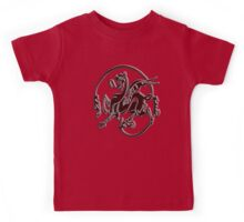 Art Nouveau, Bronze, Dragon Kids Tee