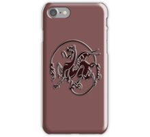 Art Nouveau, Bronze, Dragon iPhone Case/Skin